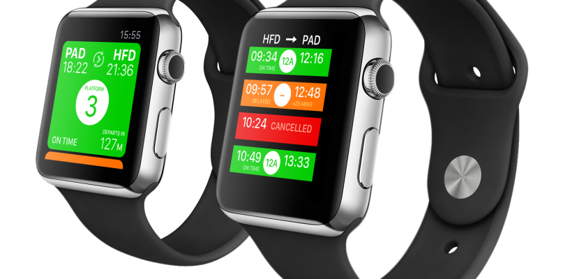 Get UK train times on your Apple Watch